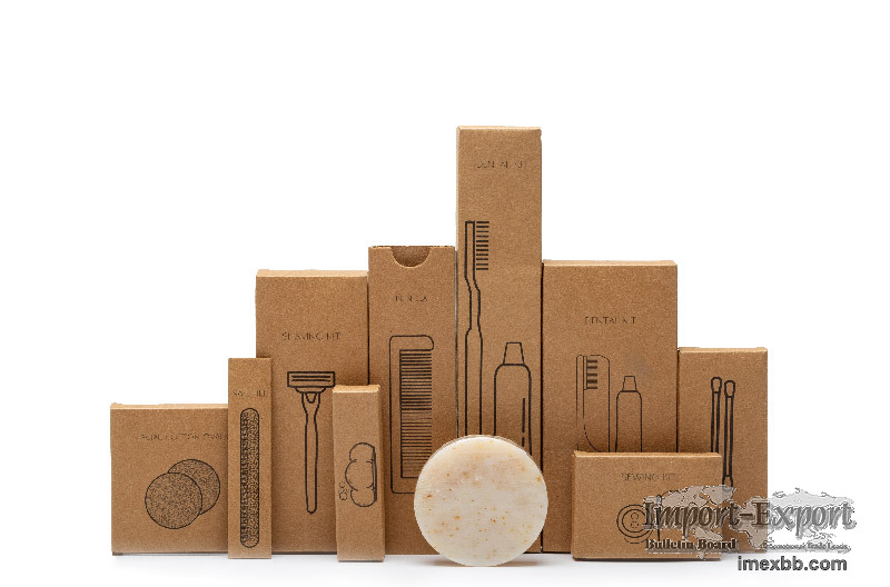 Promotional Eco-friendly Hotel Amenities Sets Disposable