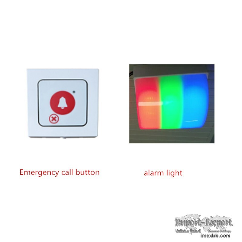 wireless alarm system home security emergency light/lamp hospital pagers
