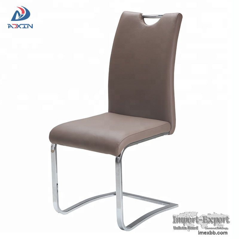 AS-8040 Wholesale modern furniture PU leather dining room side chair with c