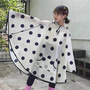 Fashion cape Pvc child rainwear