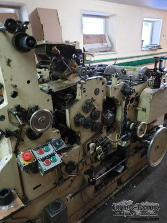 SOS Bag Making Machine with 4 color in-line printer