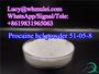 Procaine hcl Powder CAS 51-05-8 Local Anesthetics High Quality Procaine