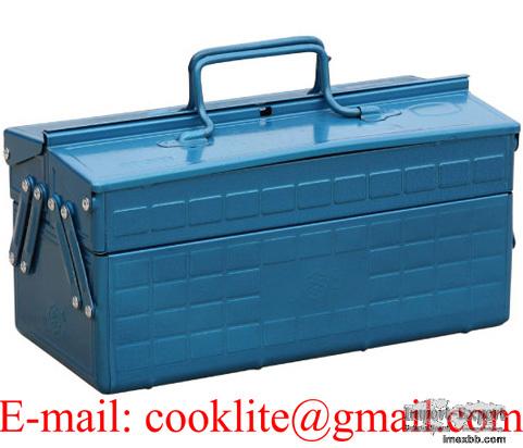 Boîte coffre à outils métallique