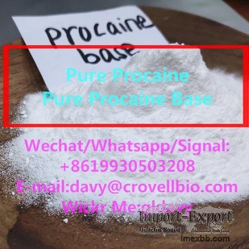 procaine hcl procaine base powder supplier (+8619930503208)