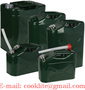 Plechová bandaska / kanister na prenos paliva