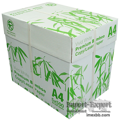 A4 White Paper 80g. 500 sheets recycled