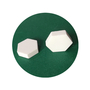 Wear-resistant ceramic lining surface impact wear resistance