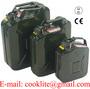 Stalowy kanister do przechowywania paliw plynnych