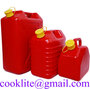 Muovinen jerrykannu polttoainekanisteri bensakanisteri punainen 5L-10L-20L