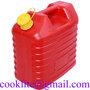 Bakelis dyzelinui benzinui plastikinis 10L Degalu kanistras plastikinis