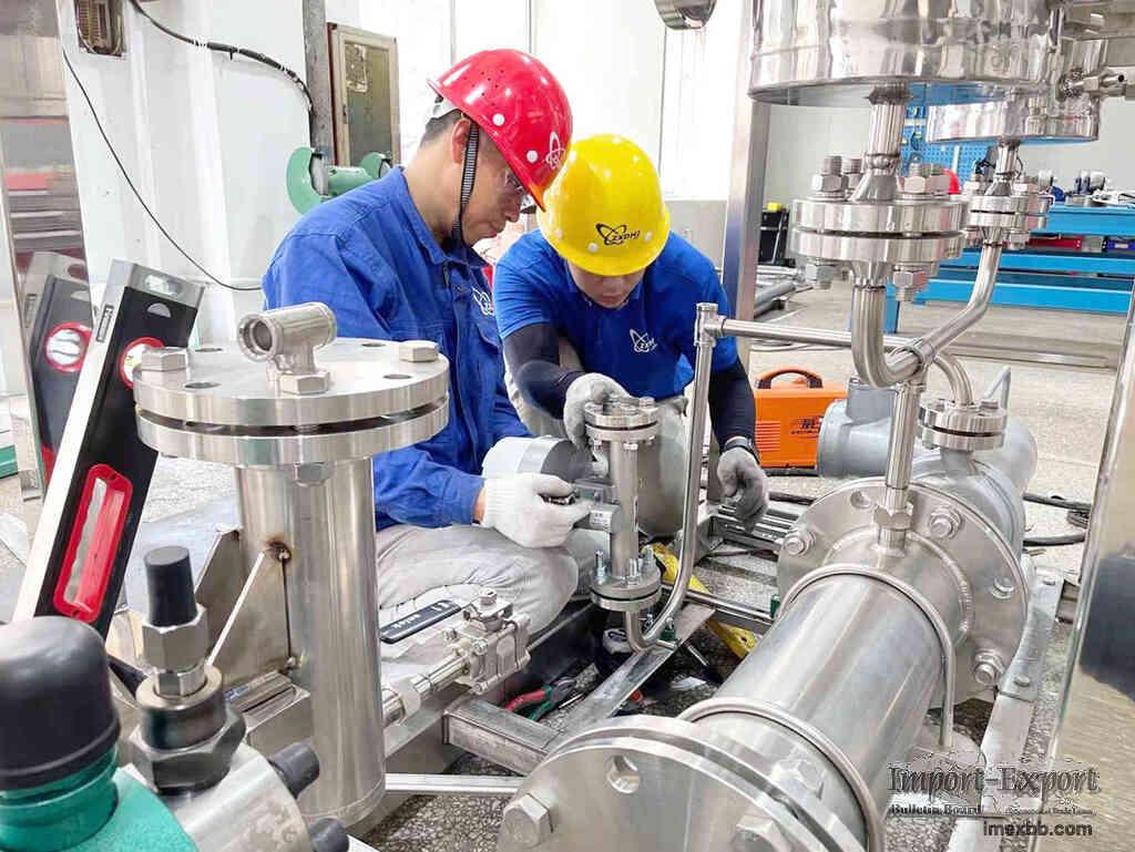 Production water electrolysis / hydrogen bus (Electrolyzer Hydrogen Generat