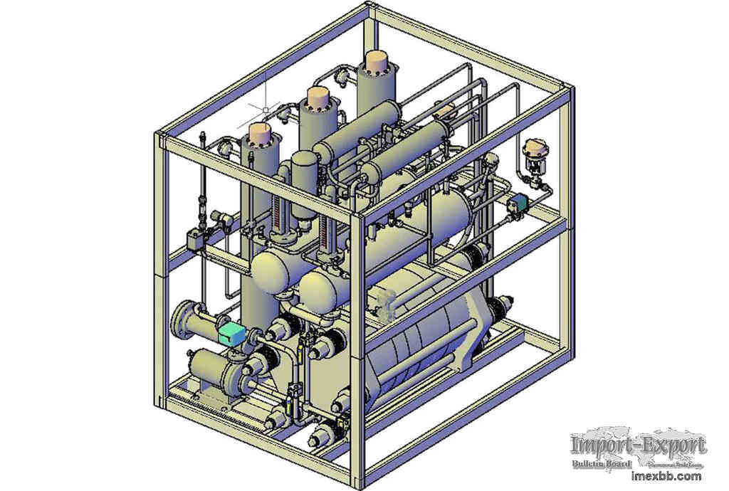 Closed circulating water system for hydrogen production by water electrolys