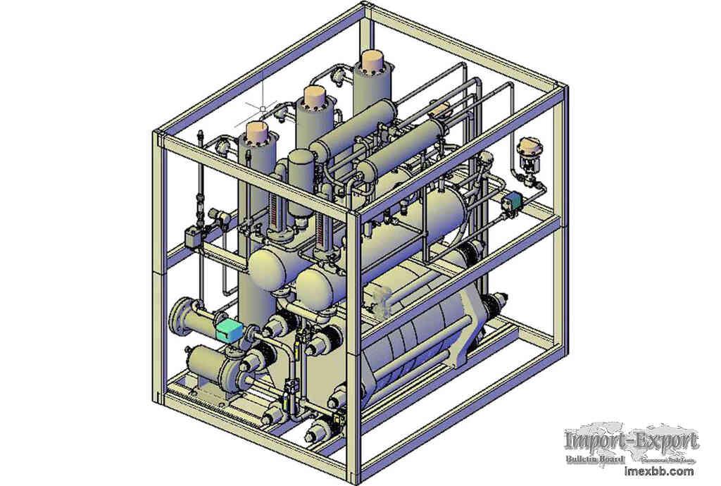 Special hydrogen purification unit of power plant (Electrolyzer Hydrogen Ge