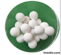 High content alumina inert ceramic ball packing particles for packed tower