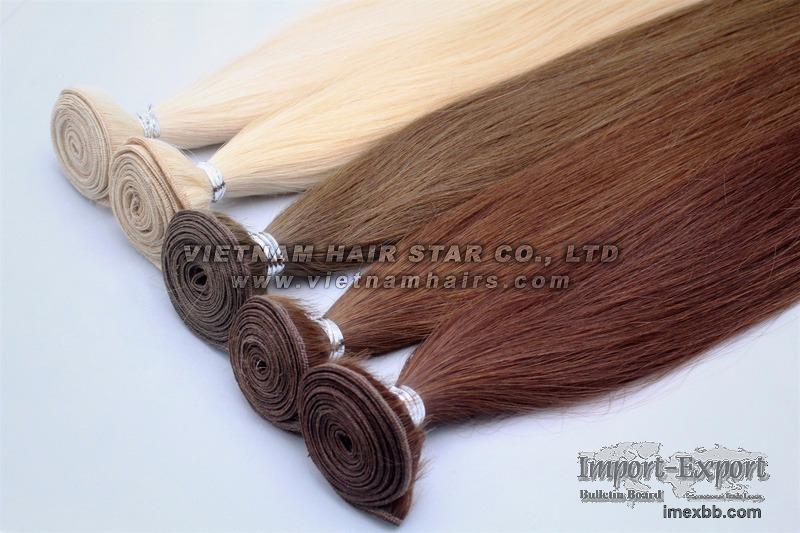100% human hair - Remy Weft Hair