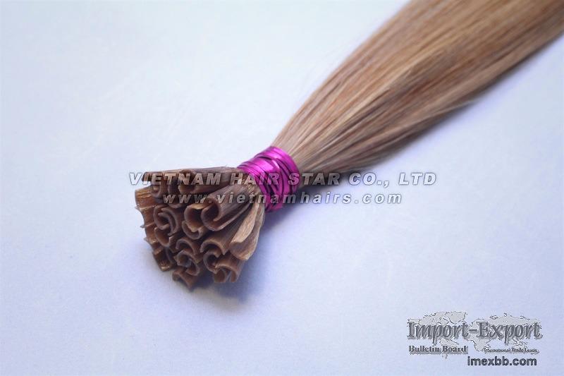 100% human hair - Pre-bonded Keratin Nail/U-tip Hair Extensions