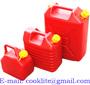 Jerrican galão plástico para transporte e armazenagem de  gasolina ou combu