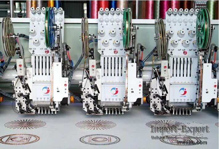 LJ-Sequin/Beads Embroidery Machine Series