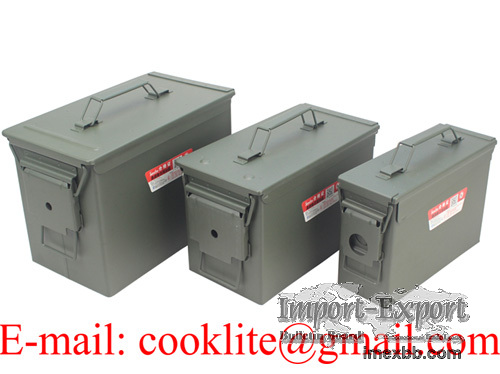US munitionskiste oliv klein transportkiste munikiste kiste metall militärk