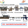 Eye-Ear Drop (3 Piece Vial) Packaging Line