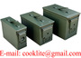 Caja de municion / Caja de municiones militar / Caja para municion