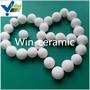 High alumina ceramic ball for ball mill with 10 mm ceramic ball
