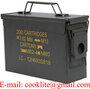 Cofre metalico tipo caixa de municoes / Caixa metalica military - M19A1 30