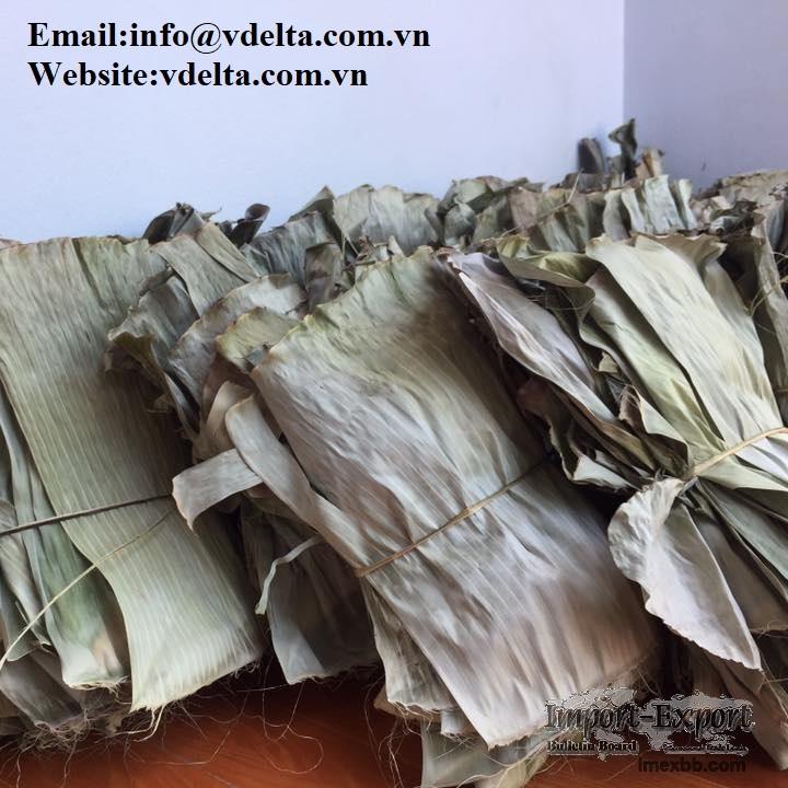 Dried banana leaf best price