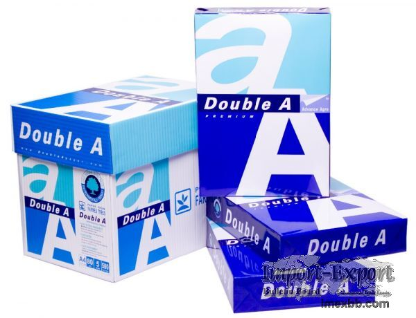 Double A4 paper one 80 gsm A4 Copy Paper 70GSM / 75GSM / 80GSM