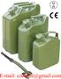 Kanister banka pojemnik metalowy na paliwo benzyne 5L-10L-20L homologacja