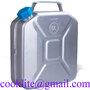 Jerrican aluminum avec bec verseur pour hydrocarbures et eau jeep bidon 10L