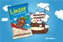 Linzer Cookie With White Cream