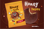 Cocoa Coated Honey Cake