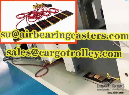 Air bearing castersis one kind of heavy load handling moving systems
