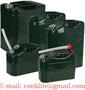 Canistra benzina sau motorina din tabla cu palnie flexibila