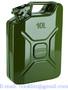 Plechový kanystr 10l UN na benzín naftu PHM / Kanister kovový na PHM