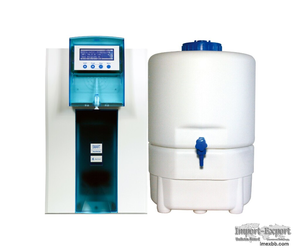 Compact Solution Combines Pure Water and Ultrapure Water Smart N-II