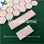 Alumina ceramic liner plate with high corrosion resistant