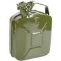 Bidón o tanque metálico para carburante y aceite Homologado 5 Litros