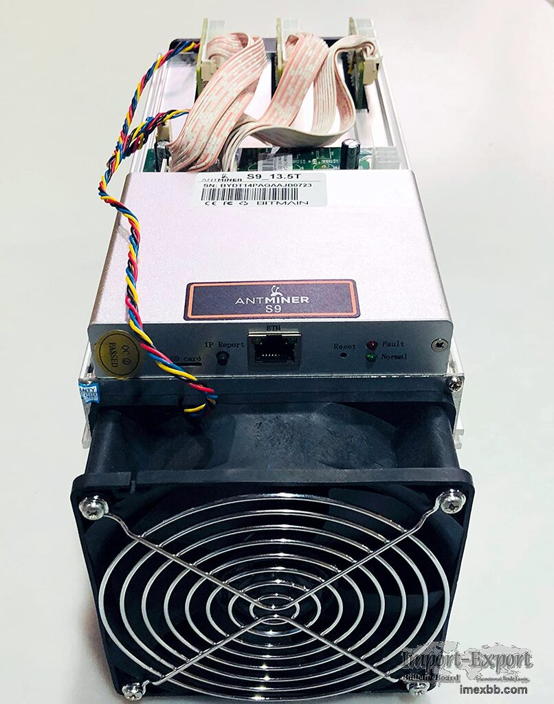 Antminer S9 Bitcoin Miner For Sale