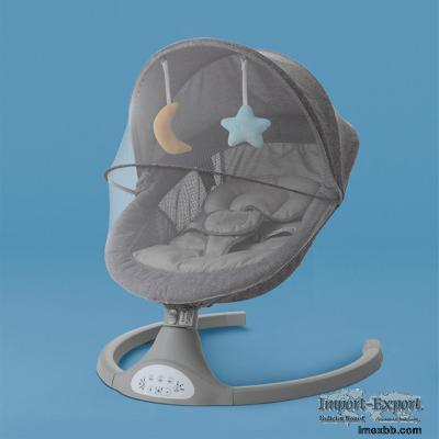 New Modern Design Baby Cradle Swing Adjustable Reclining Position Baby Nurs
