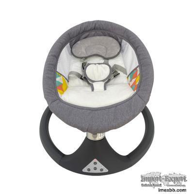 Ajustable Backrest Baby Swing Bed Safety Seat Belt Infant Cradles and Bassi