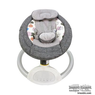 Multifunctional Electric Infant Rocking Chair, Children Nursery Stand Bounc