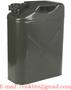 Leger benzine/diesel Jerrycan/brandstoftank metaal 20 liter groen UN-keur