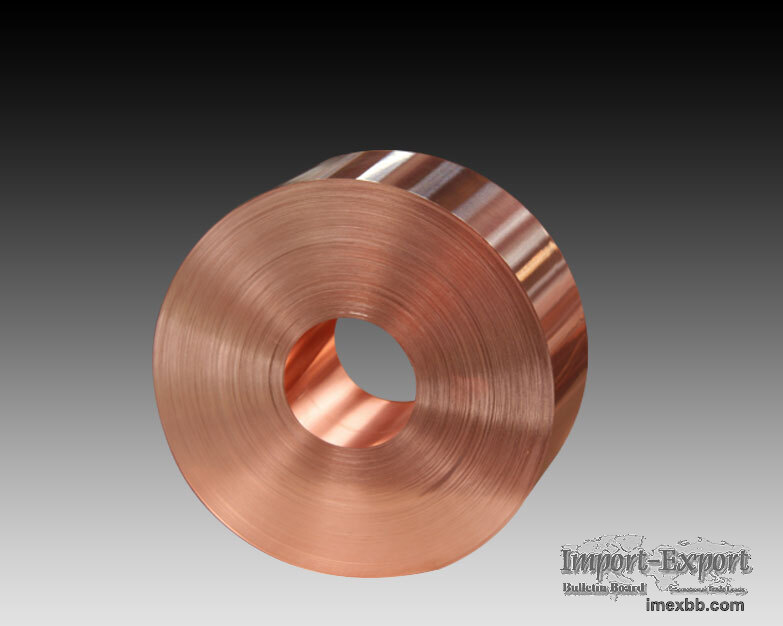 Copper strip for flexible soft connection