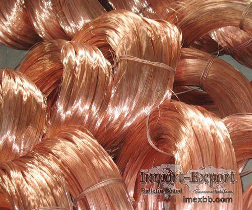 High purity copper wire scrap
