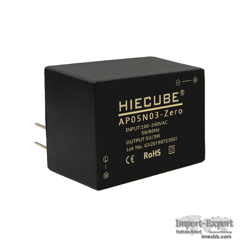 HIECUBE 3W Power Module 220V to 5V Acdc Isolation Switching Power Module