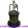 Luftdriven smörjspruta på hjul - Tryckluftsdriven fettpump med behållare 20