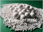 Packed tower high content alumina inert ceramic ball packing particles