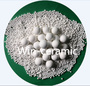 Packing ball alumina ceramic backing material supports against acid